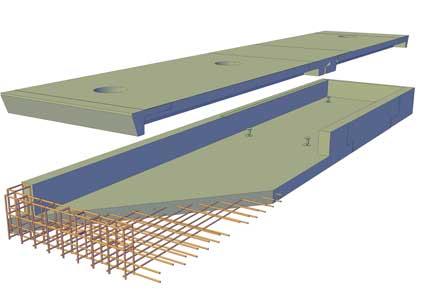 залізобетонна платформа